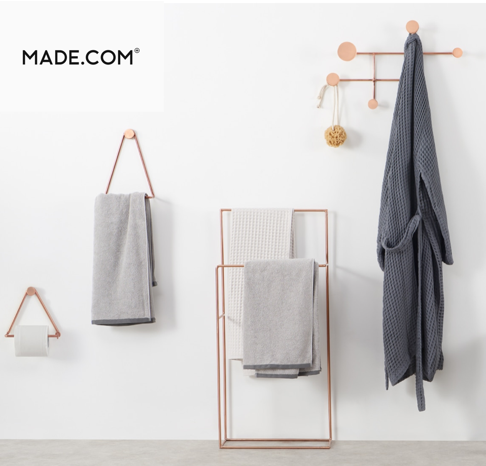 Made.com on YouK Bathroom Accessories