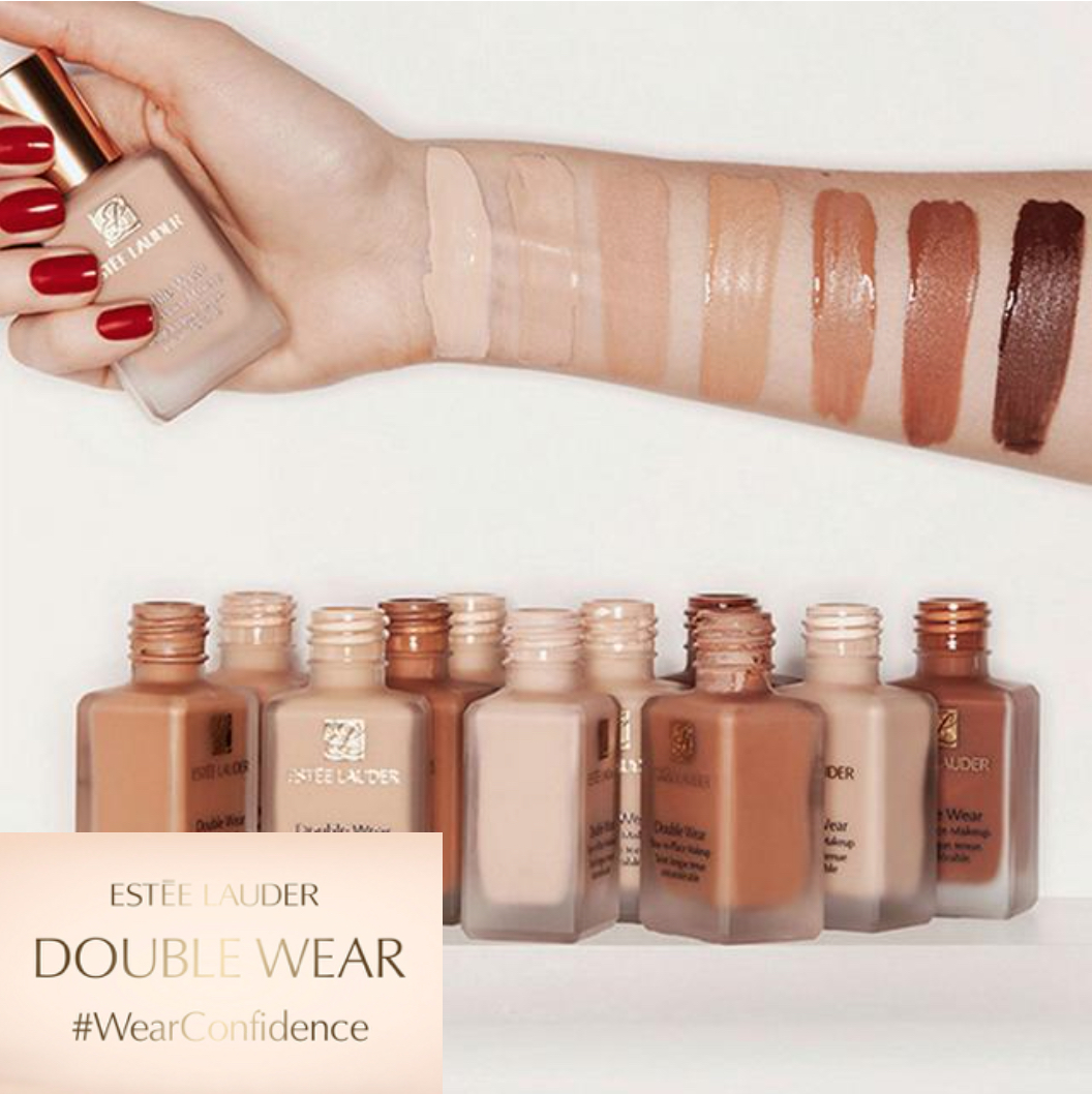 Estee Lauder double wear foundation Stay-in-Place Makeup