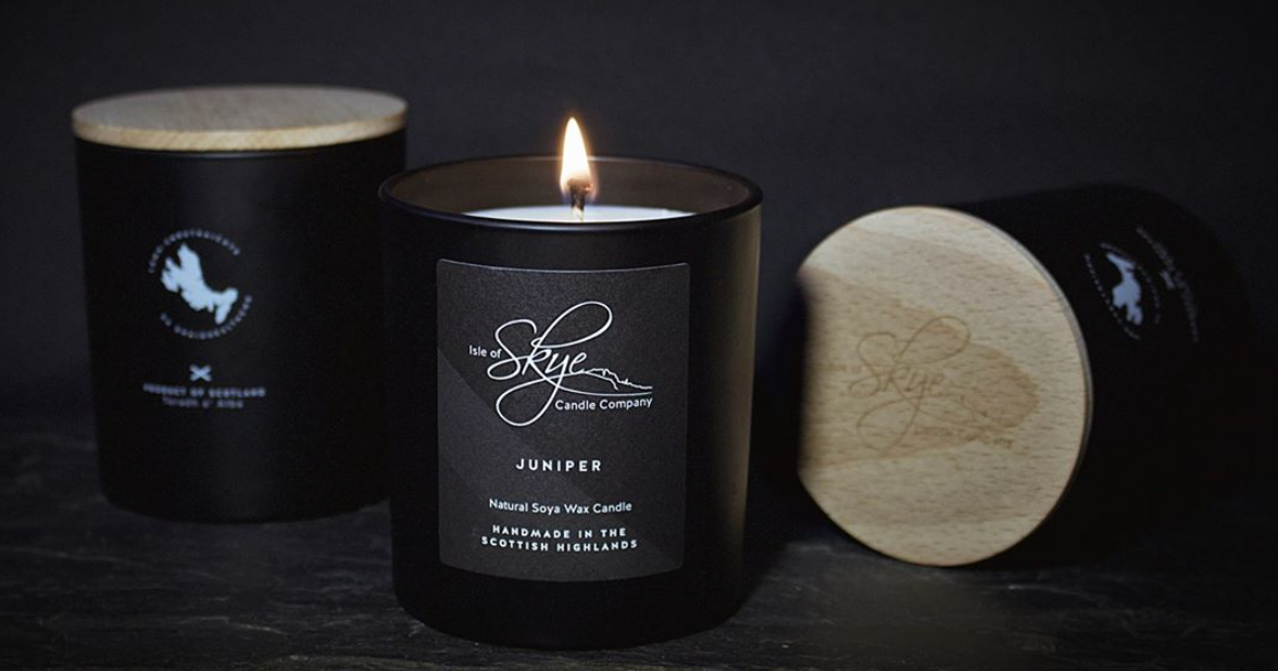 Isle of Skye Candle on YouK