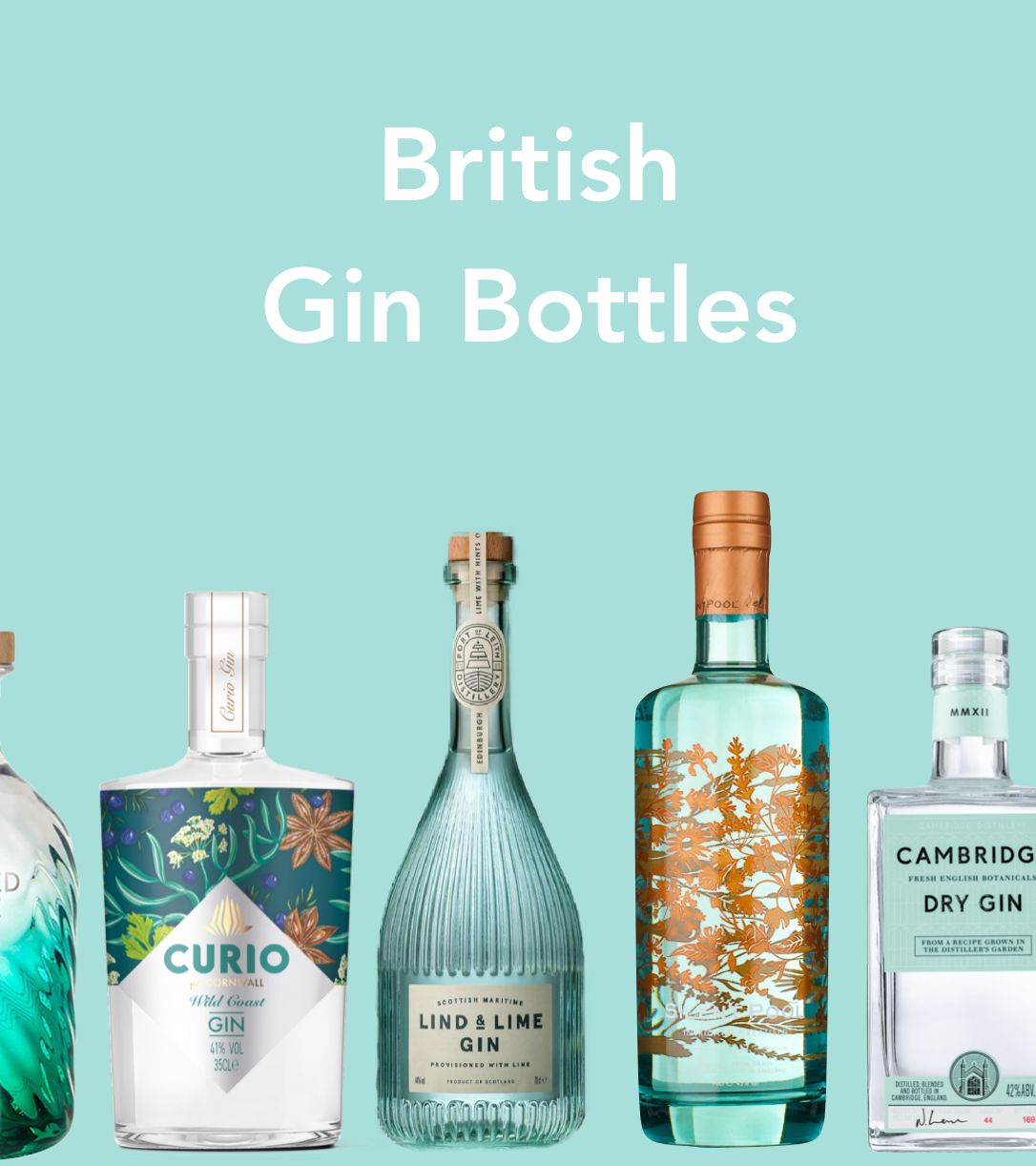 British Gin Bottles - More choice than ever for your festive G&T