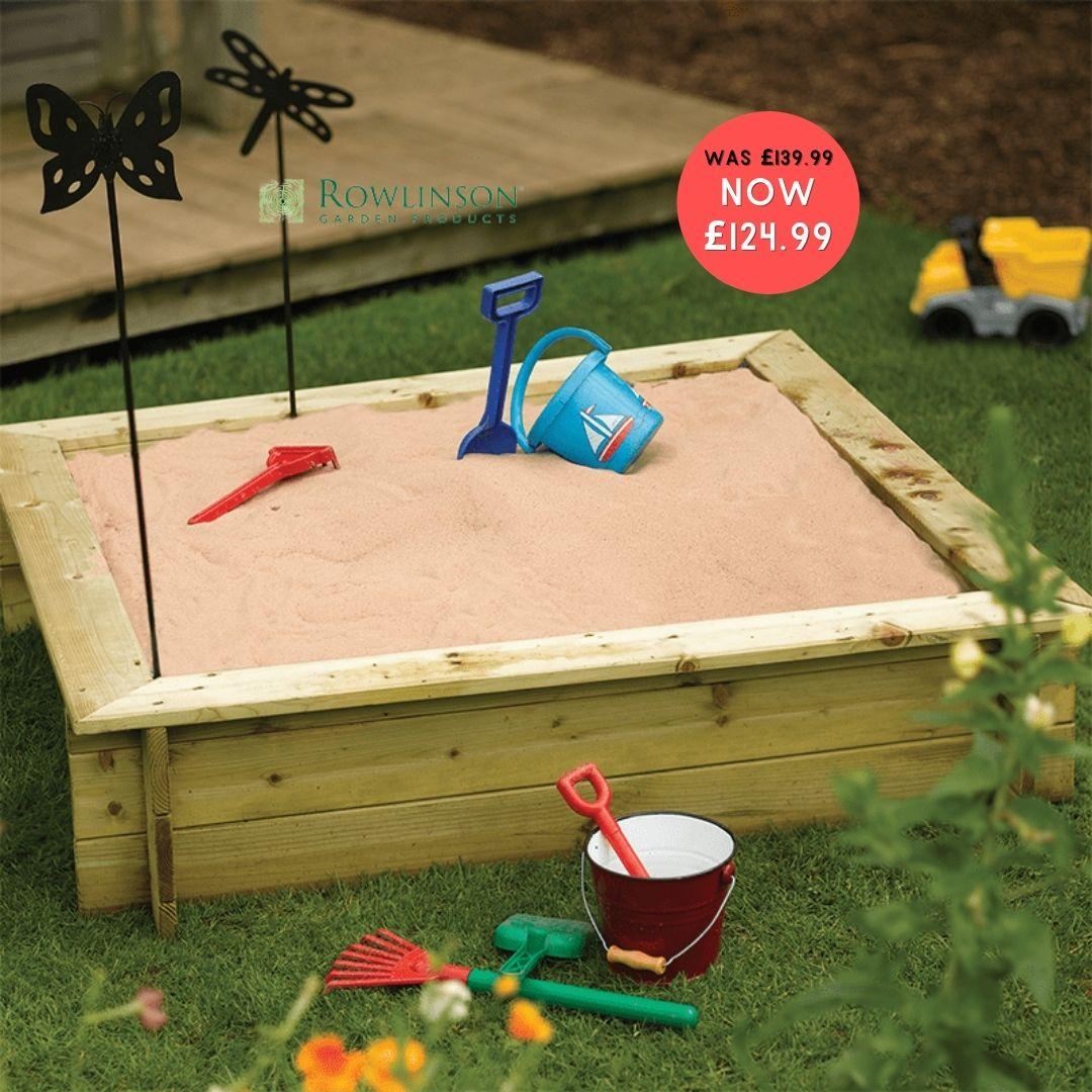 Children's Premium Garden Sandpit
