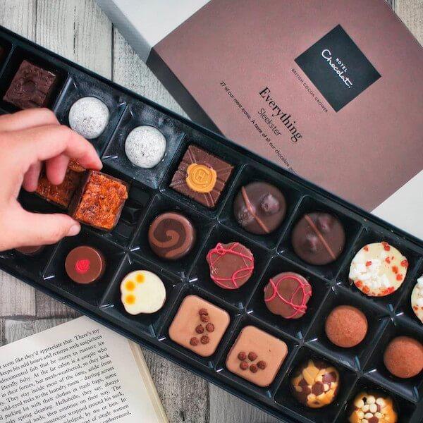 H-Box of Chocolates
